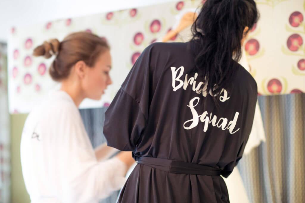 01 Bridal Robe