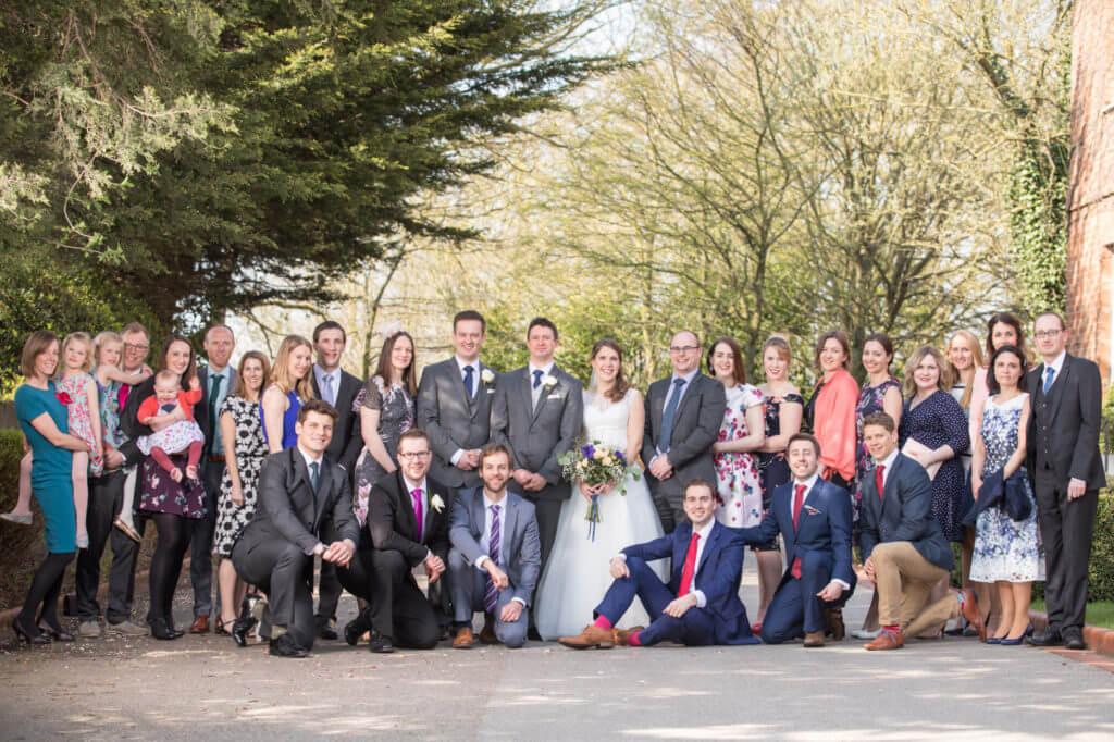 08 Amazing Wedding Family Group Shot