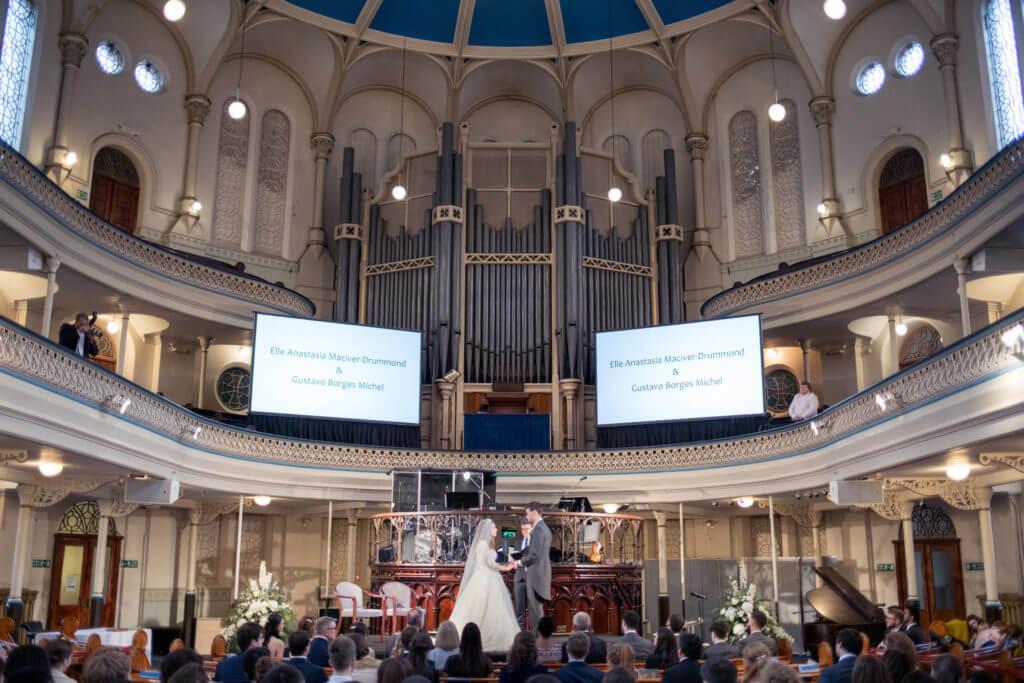10 Church Ceremony London