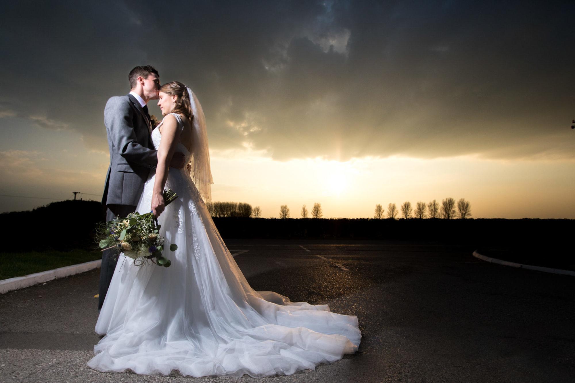 13 Wedding sunset