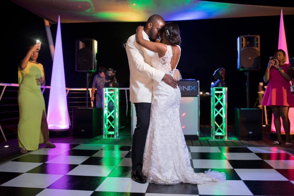 bride groom first dance pine cliffs resort portugal oxford destination wedding photographers