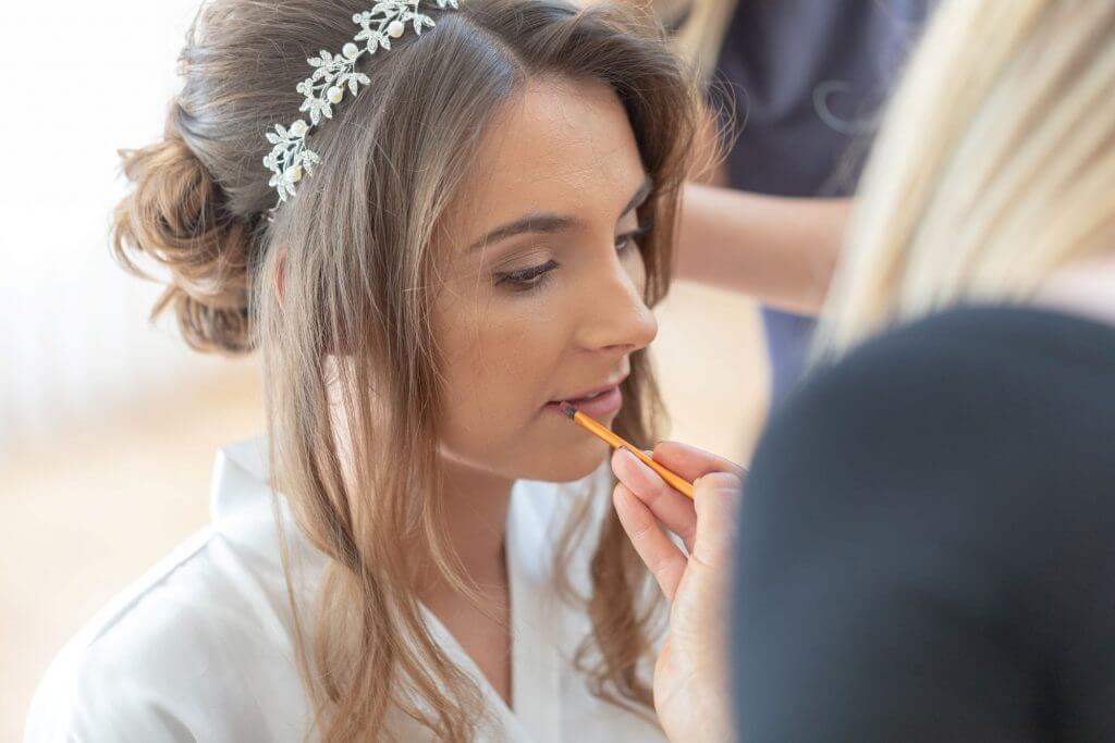 05 bride prep milton hill house wedding photography