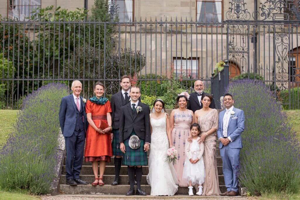 07 traditional family group portrait stoneleigh abbey kenilworth warwickshire oxford wedding photography