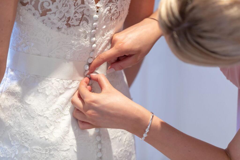 09 bride prep wedding dress milton hill house abingdon wedding photography