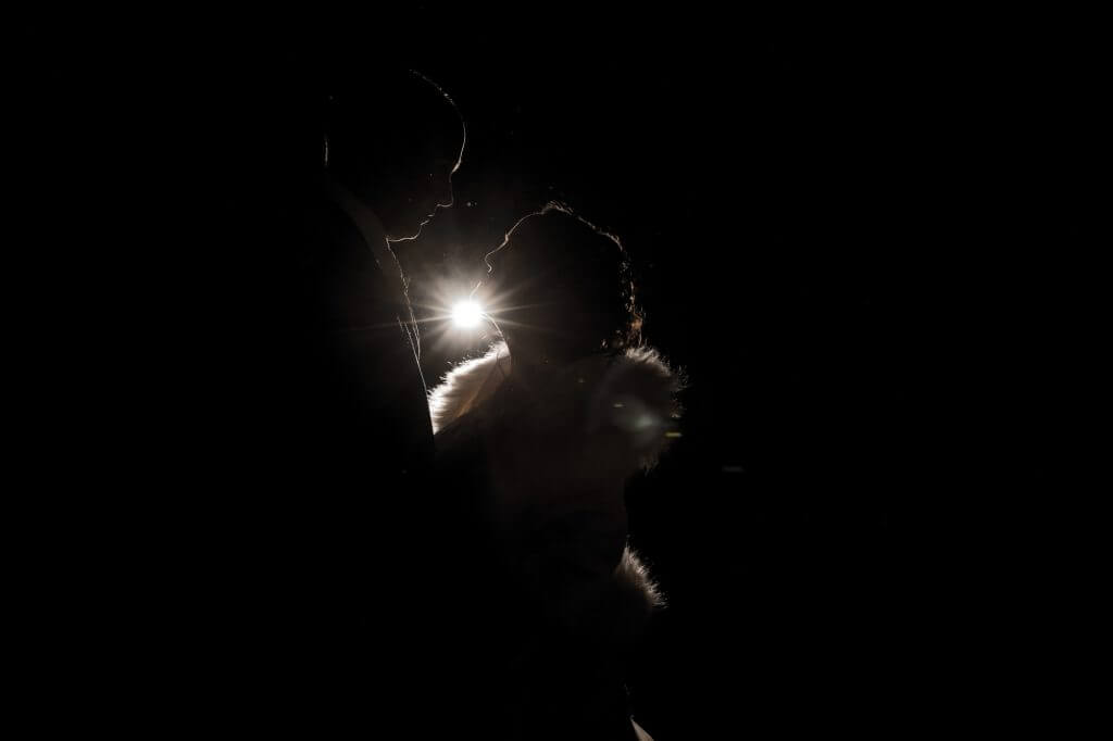 16 bride groom silhouette portrait berkeley castle stately home venue gloucestershire oxfordshire wedding photography
