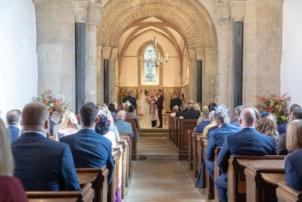 17 church wedding ceremony iffley village oxford wedding photography