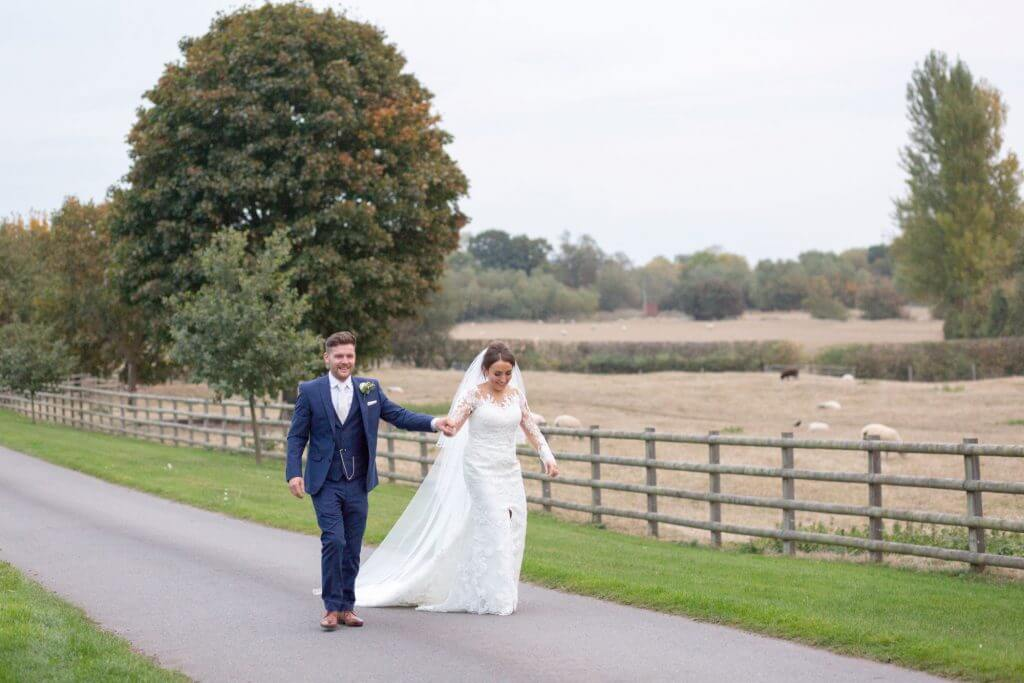 20 bride groom countryside views mythe barn luxury venue leicestershire oxfordshire wedding photography