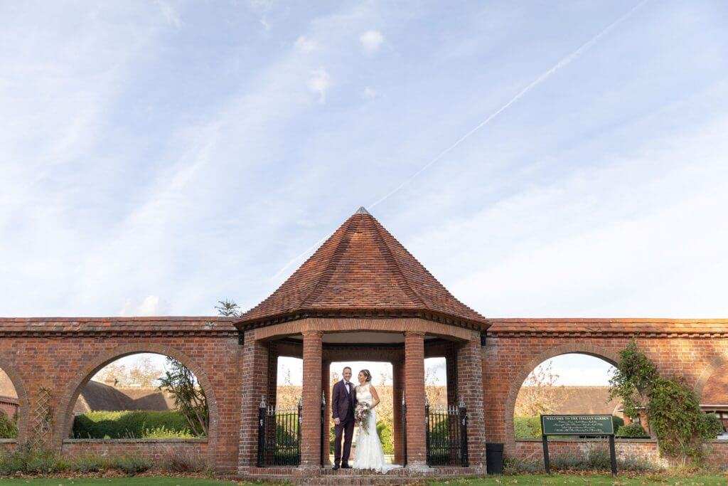 30 bride and groom portrait milton hill house abingdon wedding photography