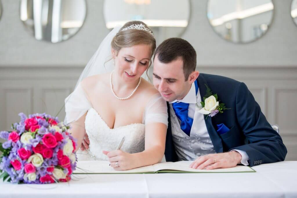 35 bride groom sign marriage registry de vere beaumont estate venue windsor berkshire oxfordshire wedding photography
