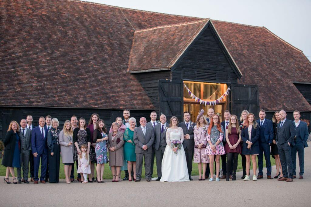 40 traditional family group portrait the great barn headstone manor harrow middlesex oxfordshire wedding photography