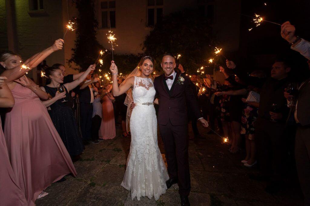 44 sparklers celebration milton hill house steventon abingdon oxford oxfordshire wedding photography