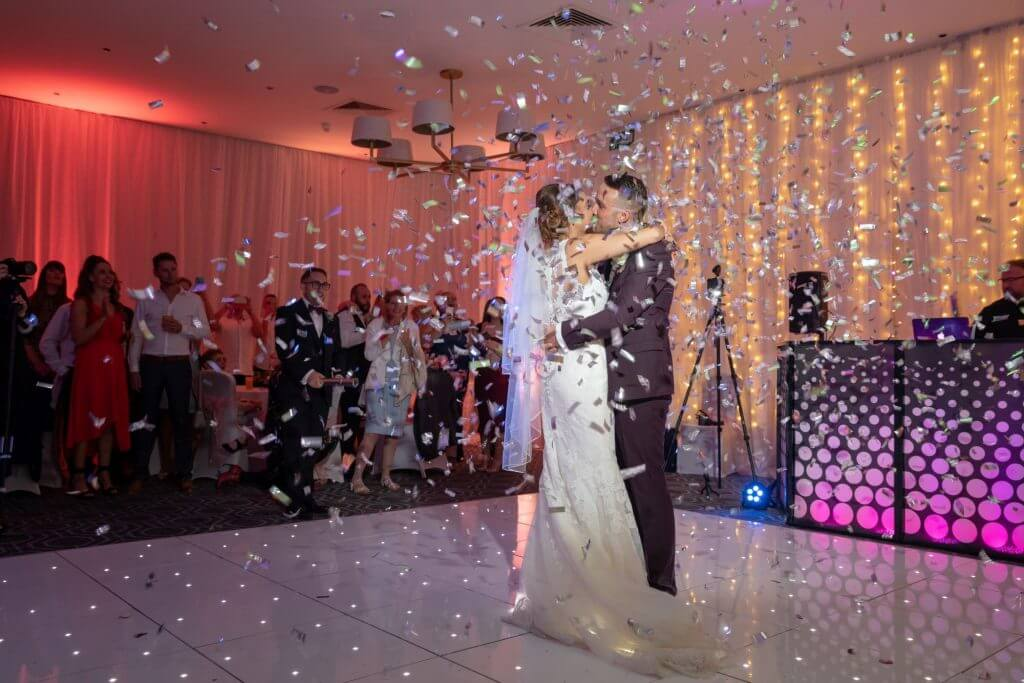 47 bride and groom glitter disco party milton hill house reception steventon abingdon oxford oxfordshire wedding photography