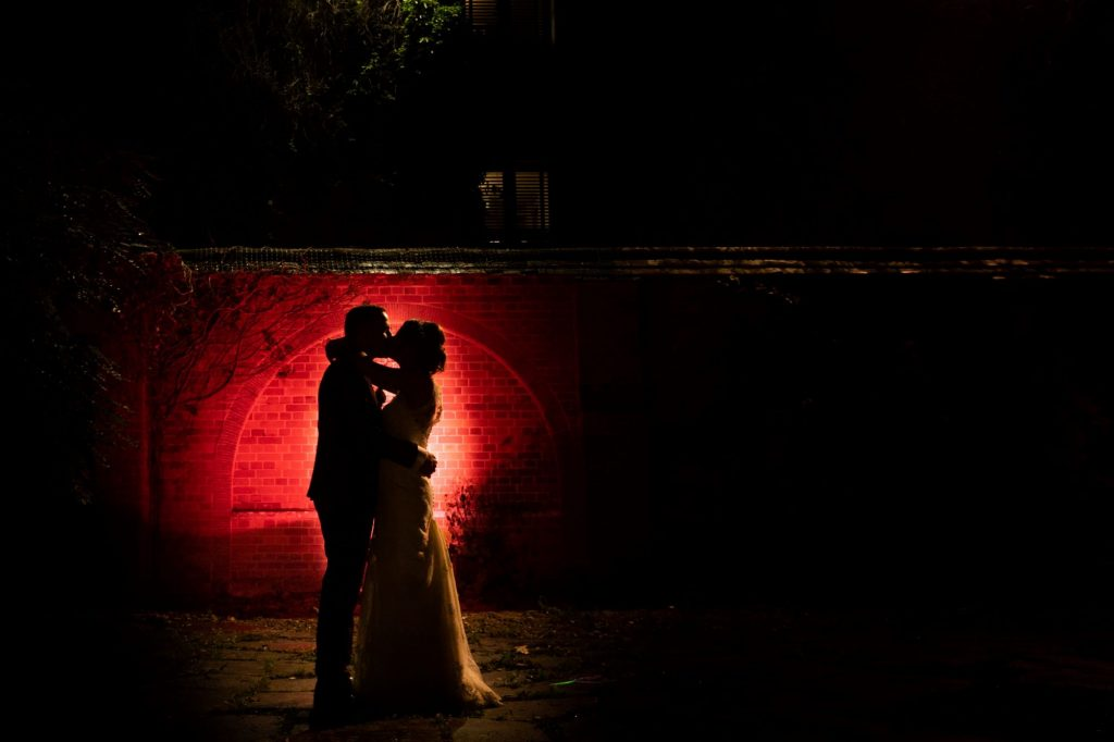 49 bride and groom moonlight portrait mill hill house steventon abingdon oxford oxfordshire wedding photography