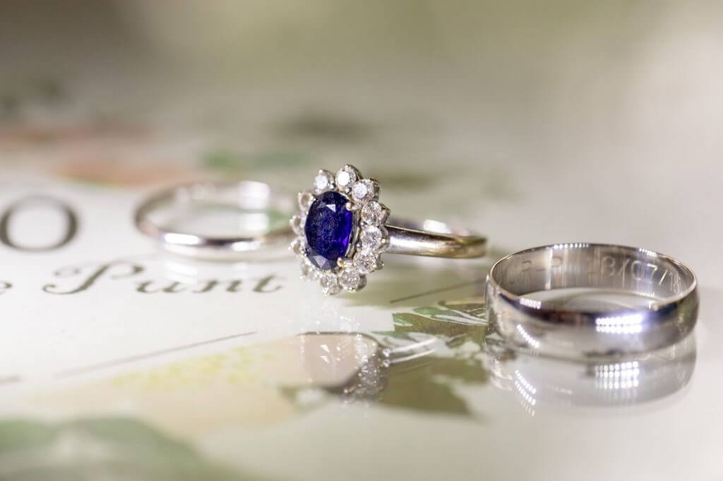 69 diamond sapphire rings cherwell boathouse champagne reception venue oxford oxfordshire wedding photographer