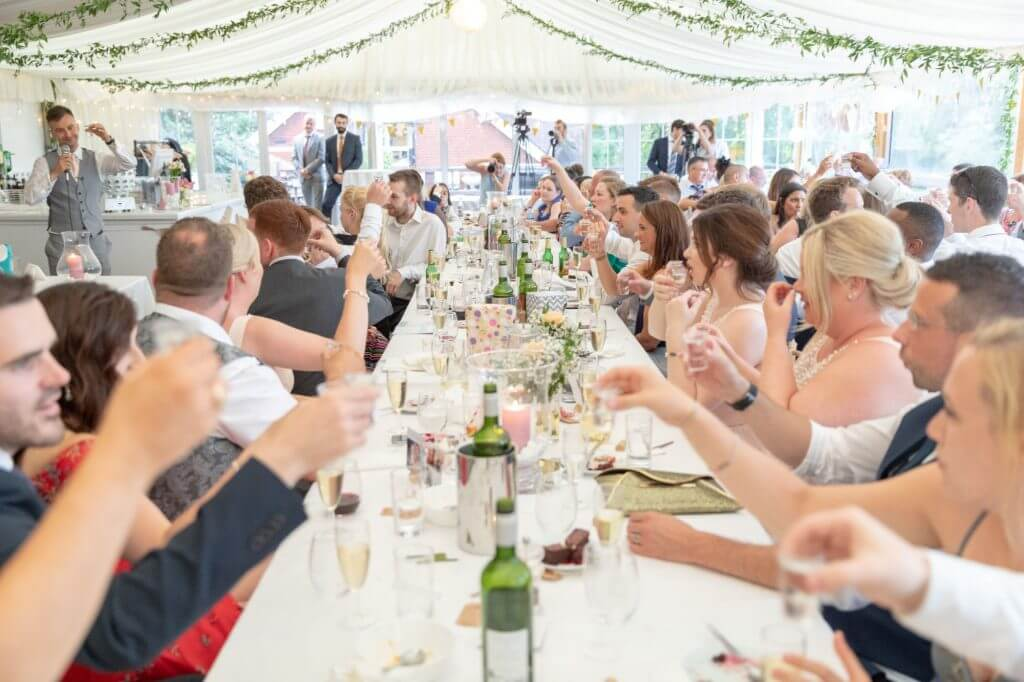 75 champagne toast grooms speech cherwell boathouse riverside venue oxford oxfordshire wedding photographer