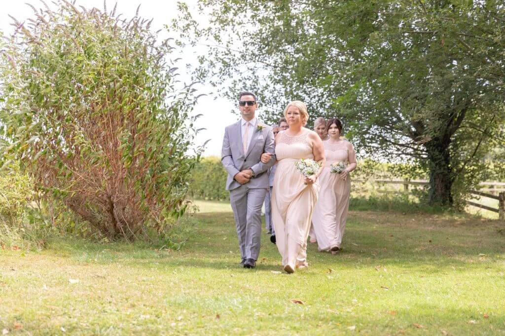 9 bridesmaid grooms pre outdoors marriage ceremony oxford wedding photography