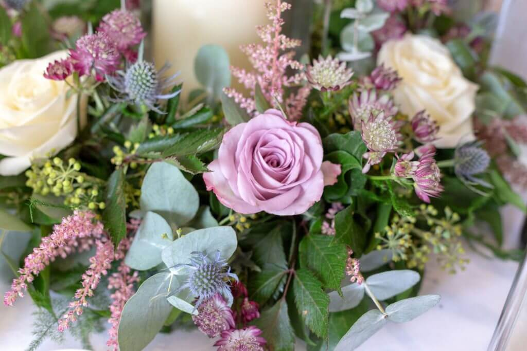 brides beautiful flowers iffley church ceremony oxford oxfordhire wedding photography 10