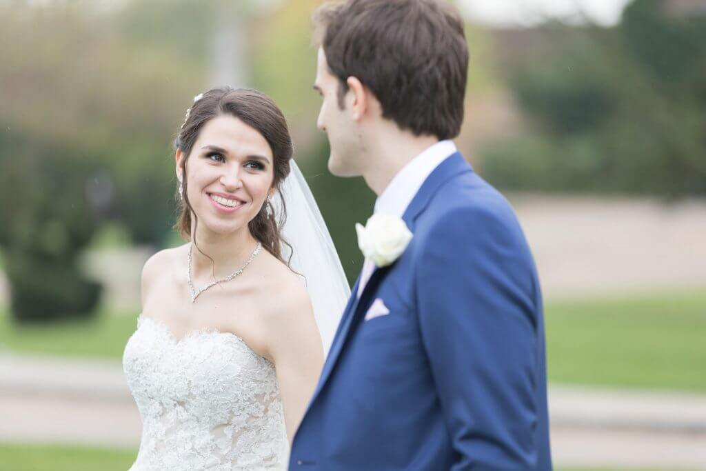 smiling bride groom just married four seasons hotel hampshire venue oxford wedding photographer