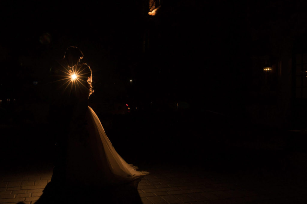 bride groom silhoutte st ermins hotel westminster london oxford wedding photographer
