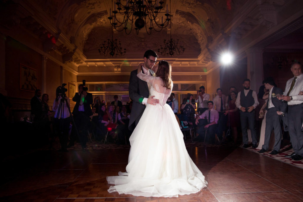 16 bride groom first dance st ermins hotel westminster london oxfordshire wedding photographers