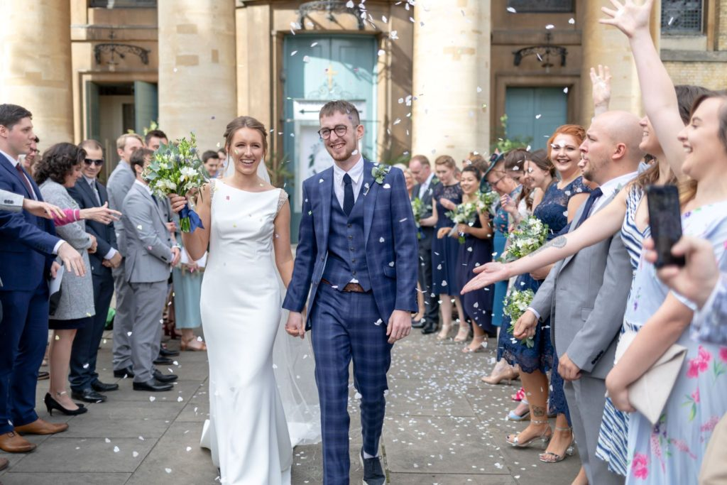 010 bride groom confetti shower st marys church marylebone london oxford wedding photography