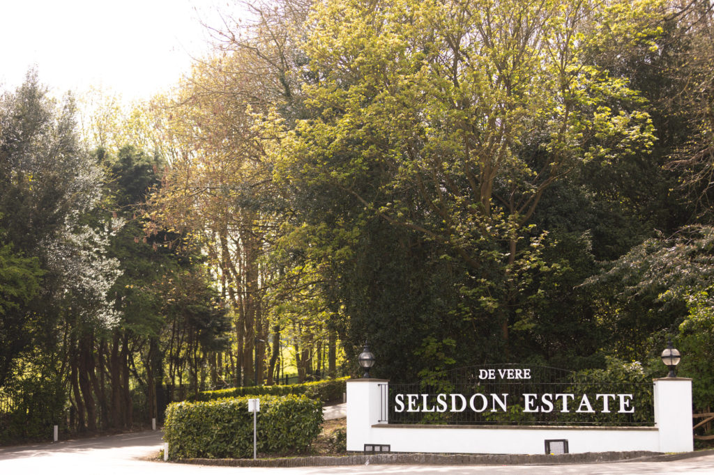 de vere selsdon estate venue entrance oxford wedding photographer
