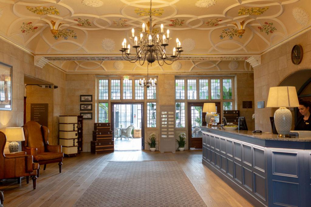 de vere selsdon estate hotel reception oxfordshire wedding photographer