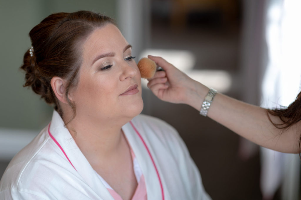 de vere selsdon estate bride prep makeup oxfordshire wedding photography