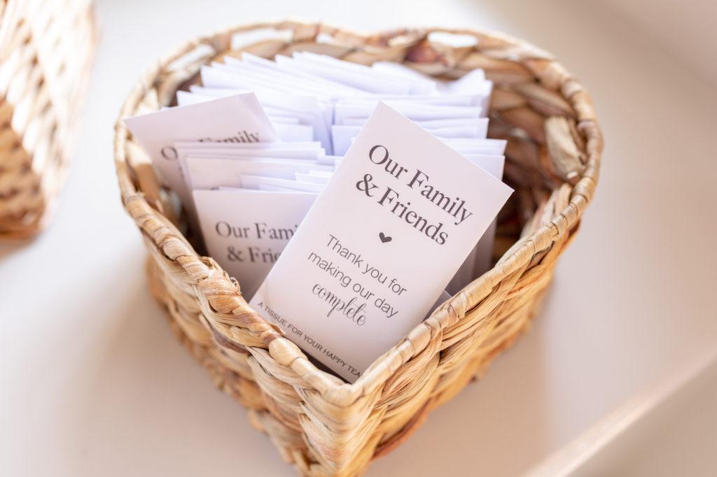 thank you cards oaks farm wedding venue oxfordshire wedding photography