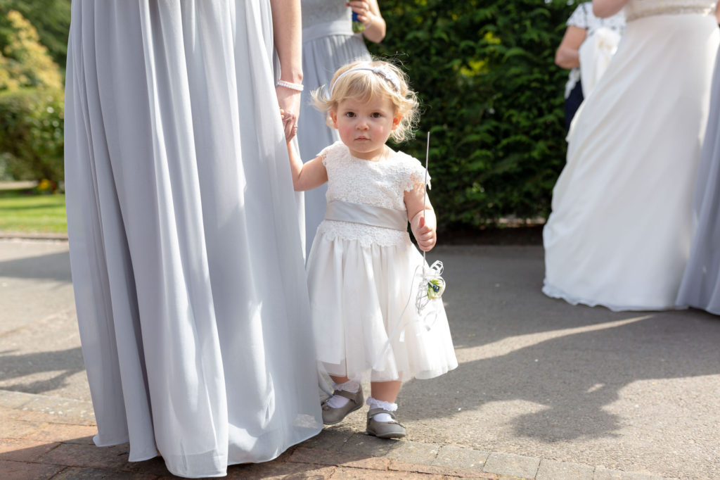 flower girl oaks farm wedding venue surrey oxfordshire wedding photographer
