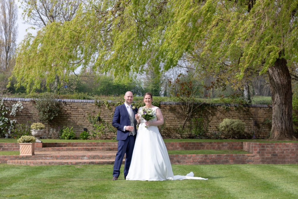 bride groom formal marriage portrait oaks farm surrey oxfordshire wedding photographer