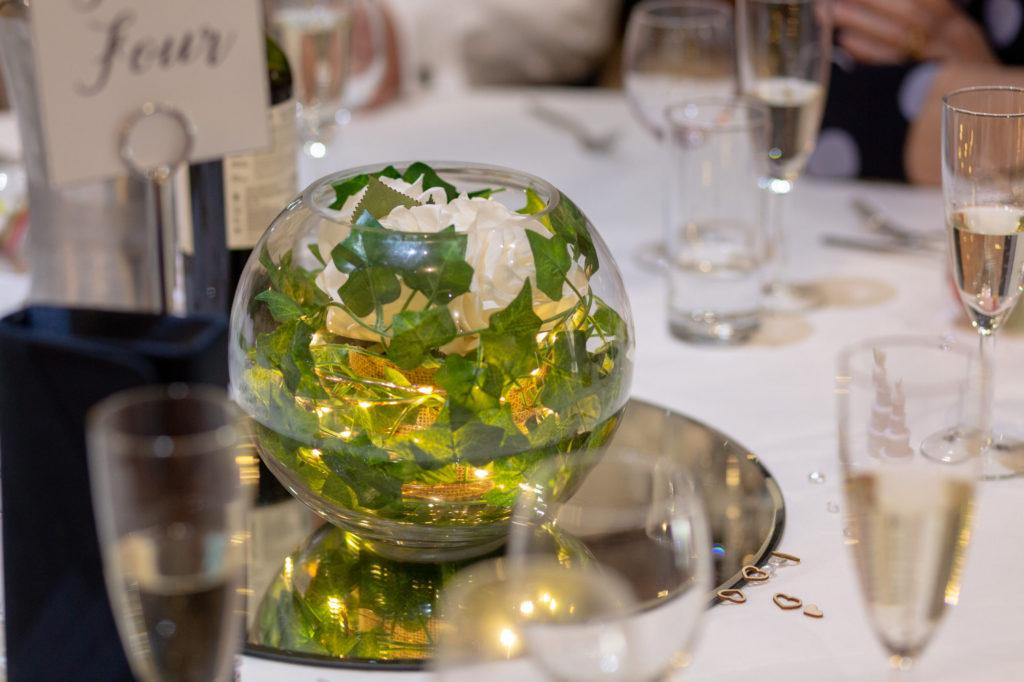 dinner reception table display oaks farm wedding venue surrey oxford wedding photographers