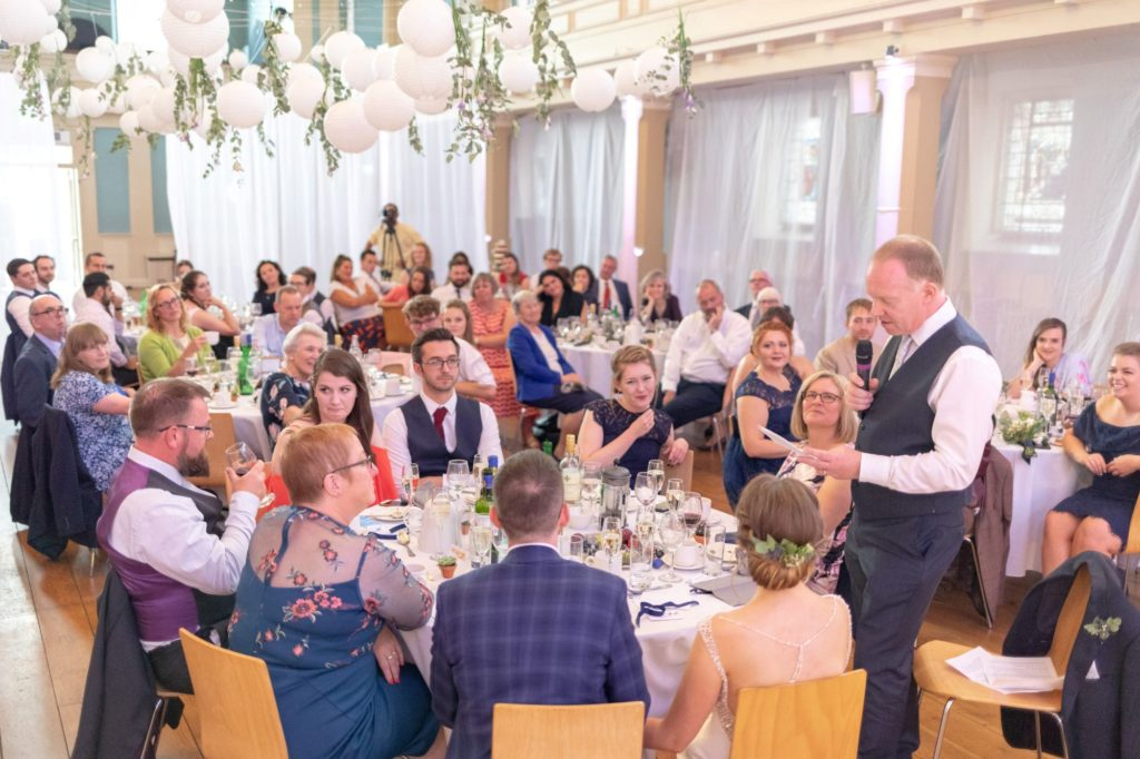 908 father of the bride top table reception speech st marys church marylebone london oxfordshire wedding photographers