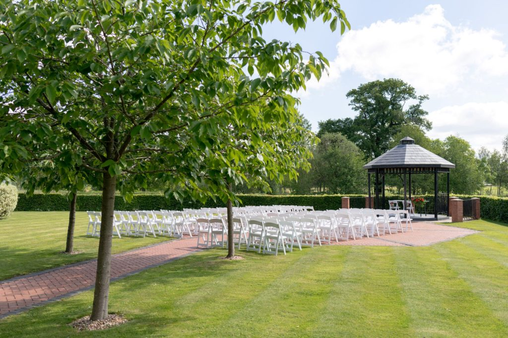 marriage ceremony setting ardencote claverdon warwick grounds oxfordshire wedding photography