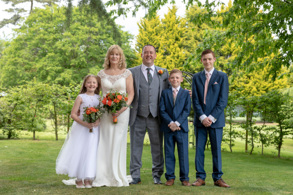 bride groom formal family portrait ardencote luxury venue claverdon warwick oxfordshire wedding photographer