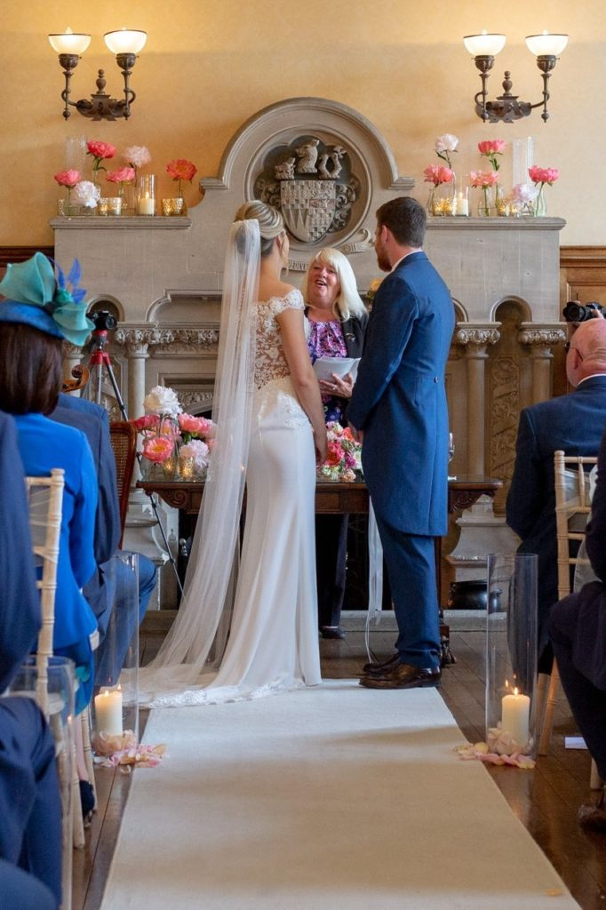 bride groom celebrant marriage ceremony the elvetham hartley wintney hampshire oxfordshire wedding photographers