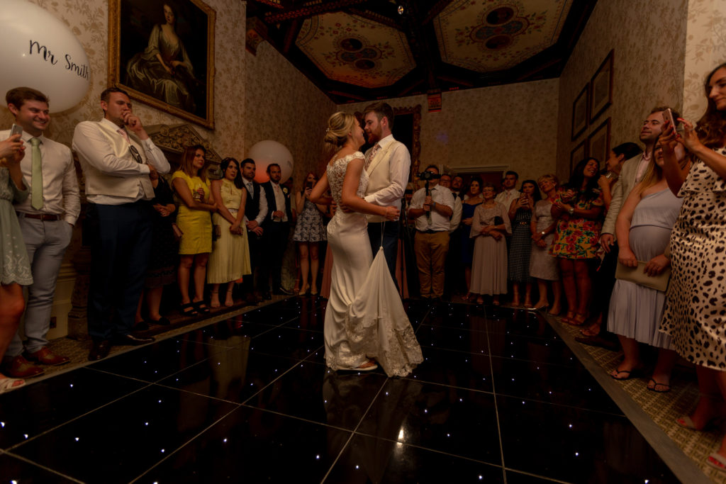 bride groom first dance the elvetham venue hartley wintney hampshire oxfordshire wedding photography