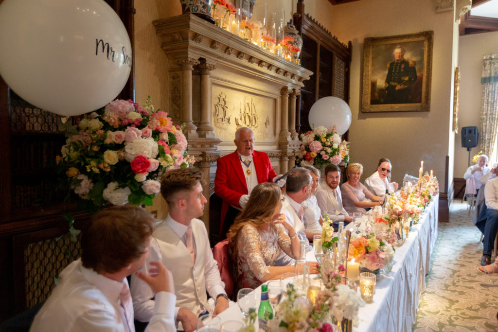 toastmaster top table guests the elvetham hartley wintney hampshire oxford wedding photographer