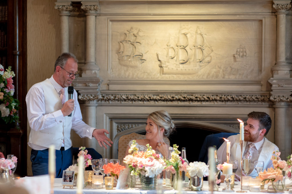 father of the bride top table speech elvetham hartley wintney hampshire oxford wedding photographers