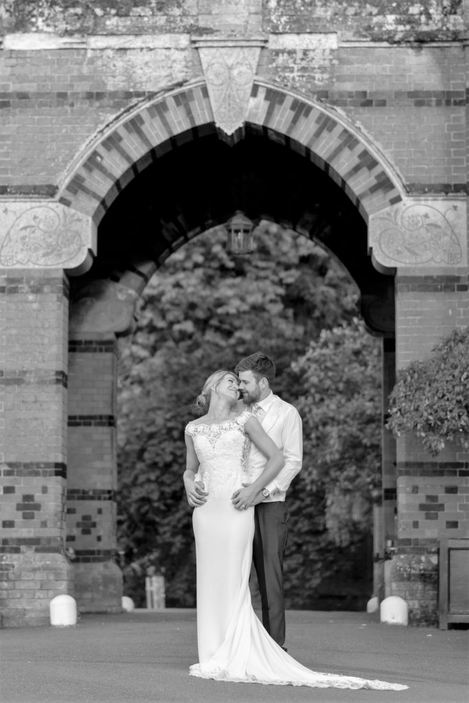 bride groom loving looks the eletham gardens hartley wintney hampshire oxfordshire wedding photographers