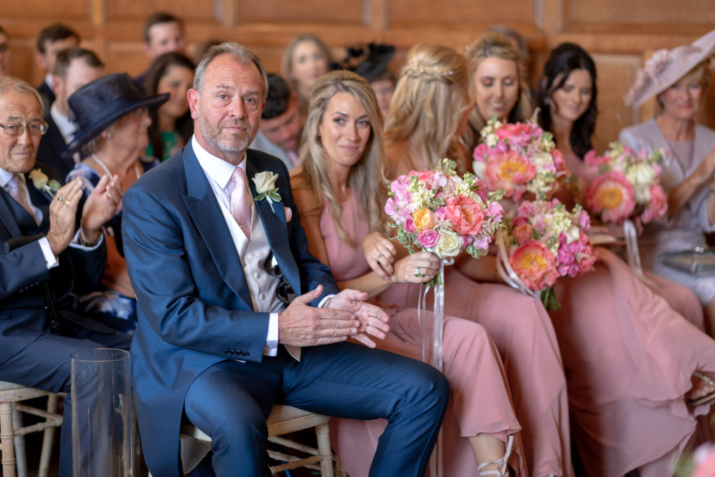 47 brides parents bridesmaids floral bouquets marriage ceremony the elvetham hartley wintney hampshire oxfordshire wedding photographers