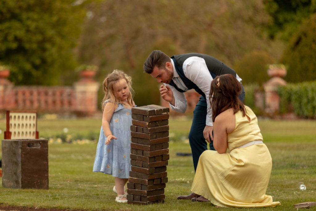 114 guests play garden games the elvetham venue hartley wintney hampshire oxfordshire wedding photography