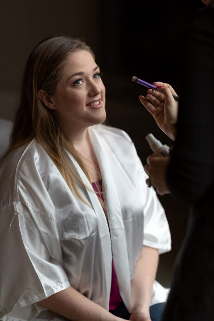 bride preparation makeup compton verney venue warwickshire oxford wedding photography