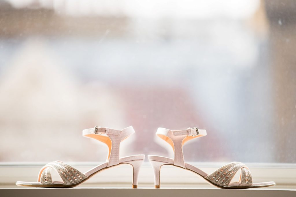 brides shoes marylebone hotel london oxford wedding photographers