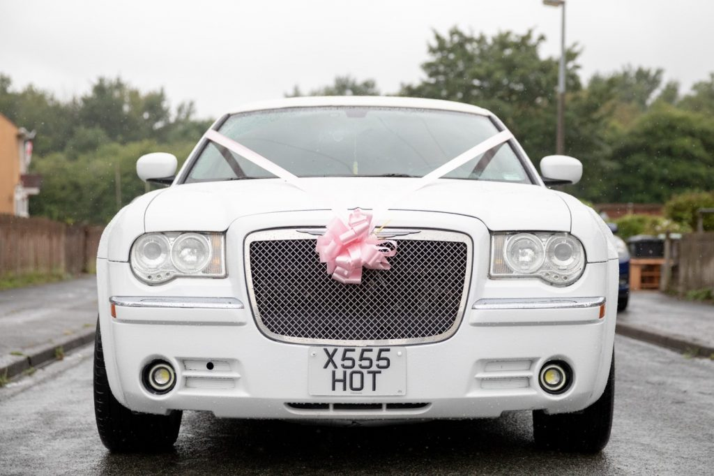 bridal car st marks church ceremony pensnett dudley west midlands oxford wedding photography