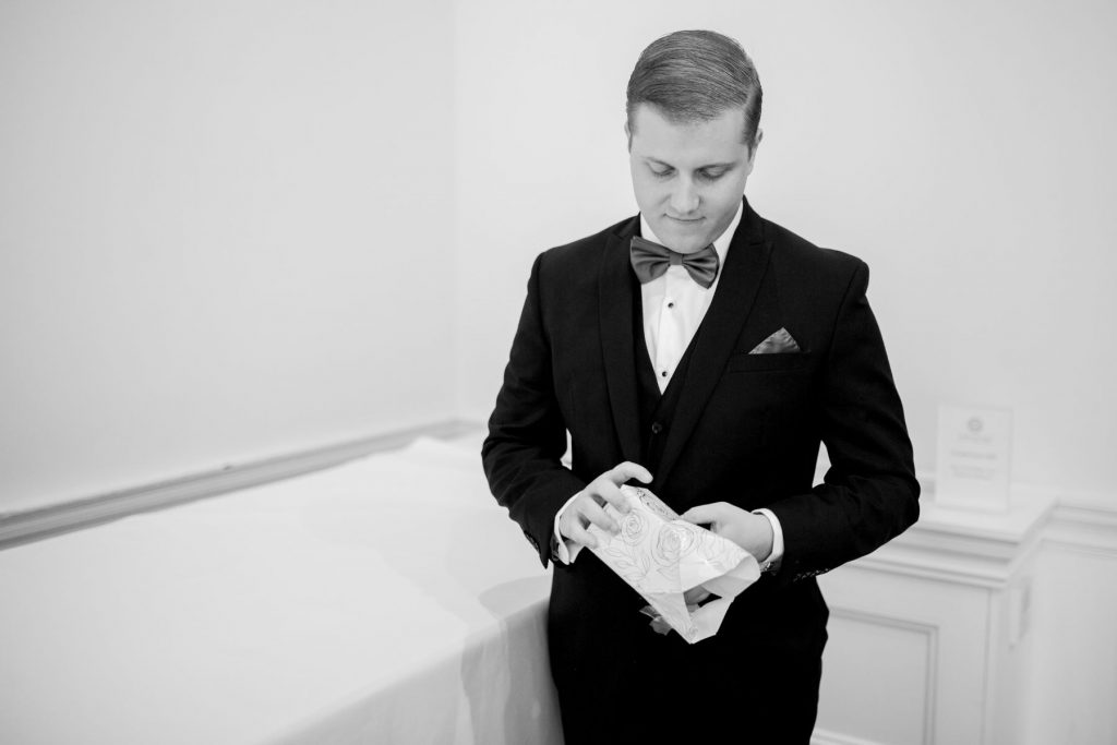 grooms gift academy of medical sciences portland place london oxford wedding photography