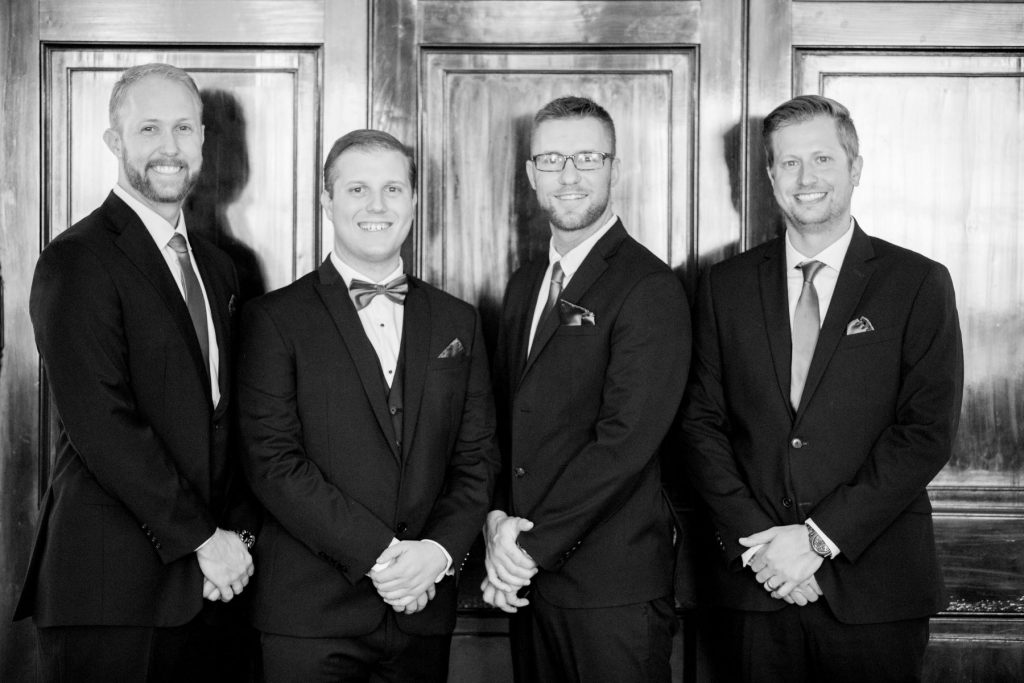groom bestman groomsmen formal portait academy of medical sciences portland place london oxfordshire wedding photographers