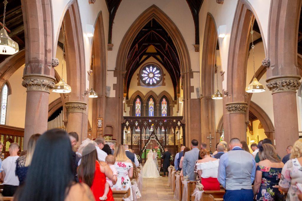 marriage ceremony begins st marks church pensnett dudley west midlands oxfordshire wedding photographer