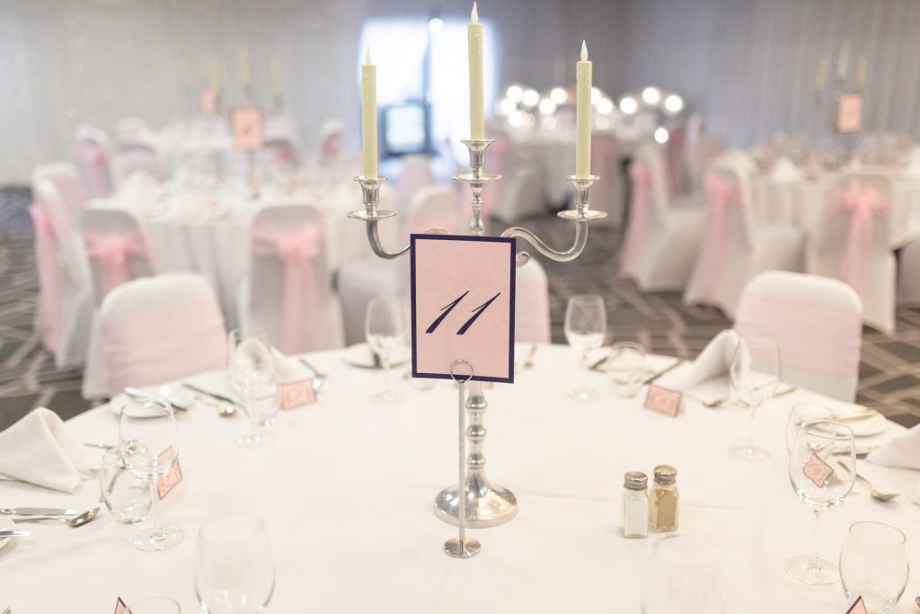 dinner reception tables village hotel club venue dudley birmingham oxford wedding photographer