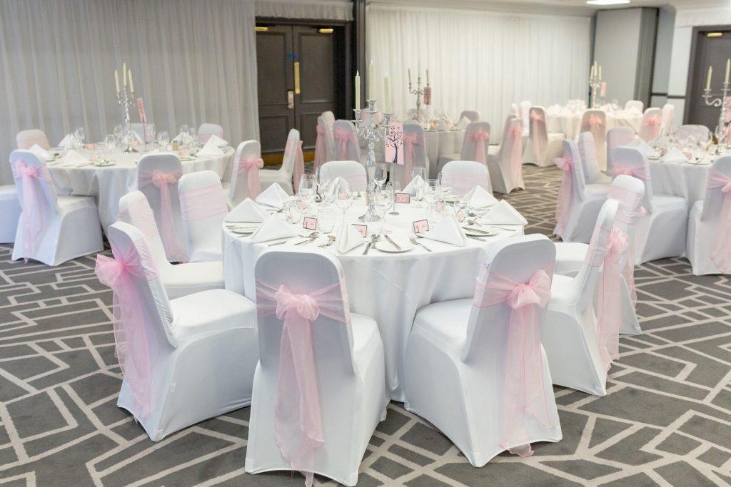 wedding breakfast table village hotel club venue dudley birmingham oxford wedding photography
